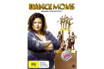 DANCE MOMS: SEASON 2 COLLECTION 1 -Educational Series DVD NEW