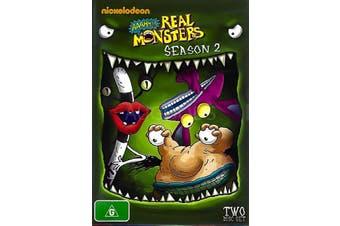 AAAHH!!! REAL MONSTERS SEASON 2 -Kids DVD Rare Aus Stock New