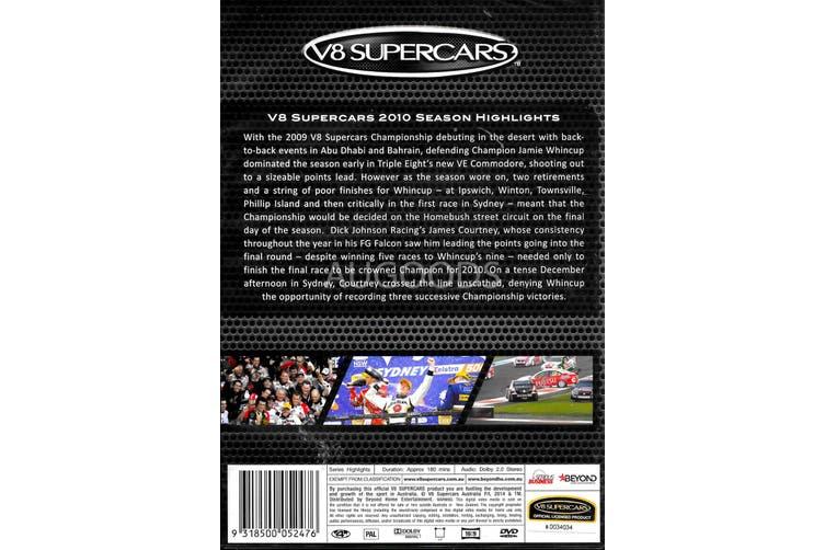 2010 VE SUPERCARS SEASON HIGHLIGHTS - DVD Series Rare Aus Stock New Region 4