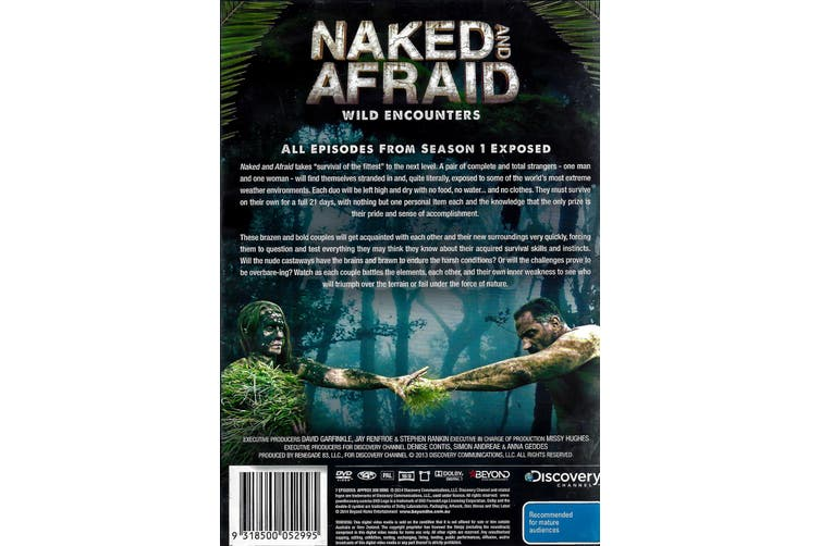 NAKED AND AFRAID: WILD ENCOUNTERS -Educational Series Region 4 DVD NEW