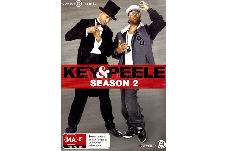KEY&PEELE SEASON 2 -Comedy Series Region All Rare- Aus Stock DVD NEW