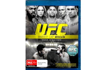 UFC: BEST OF 2013 YEAR IN REVIEW - Blu-Ray Series Rare Aus Stock New Region B
