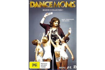 DANCE MOMS SEASON 3 COLLECTION 1 - Series Rare- Aus Stock DVD NEW