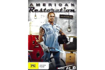 AMERICAN RESTORATION: COLLECTION SIX - DVD Series Rare Aus Stock New Region 4