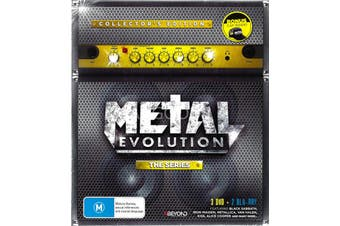 Metal Evolution The Series (3 Disc + 2 Blu-Ray) -Educational DVD Series New