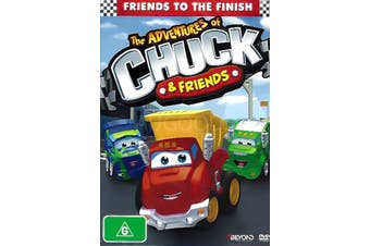 FRIENDS TO THE FINISH -Kids DVD Series Rare Aus Stock New Region 4