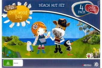 LILY'S DRIFTWOOD BAY: BEACH HUT SET -Kids DVD Series Rare Aus Stock New