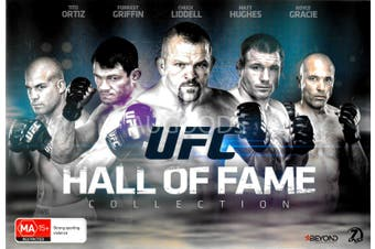 UFC HALL OF FAME COLLECTION - DVD Series Rare Aus Stock New Region 4