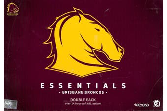 ESSENTIALS - BRISBANE BRONCOS - DVD Series Rare Aus Stock New Region 4