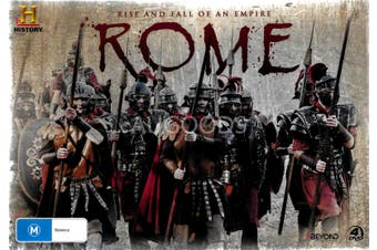 Rome Rise and Fall of an Empire - DVD Series Rare Aus Stock New Region 4