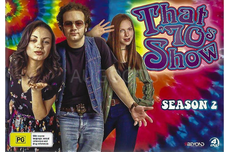 BOX SET: THAT' 70S SHOW SEASON 2 -DVD Comedy Series Rare Aus Stock New