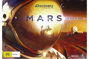 BOX SET: MARS: THE RED PLANET - DVD Series Rare Aus Stock New