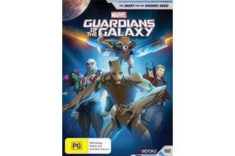 The Guardians Of The Galaxy - Hunt For The Cosmic Seed -DVD Animated New