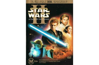Star Wars Attack of the Clones - Rare DVD Aus Stock New