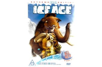 ICE AGE EXTREME COOL EDITION -Kids DVD Rare Aus Stock New