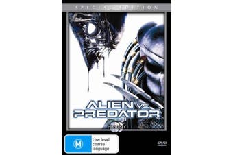 Alien vs Predator - SPECIAL EDITION - Rare DVD Aus Stock New