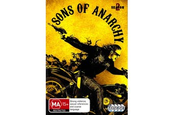Sons Of Anarchy: Season 2 - DVD Series Rare Aus Stock New Region 4