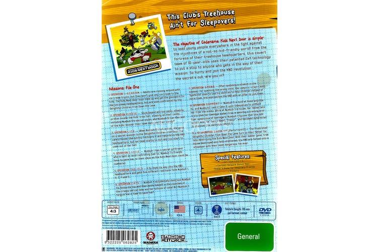 Codename: Kids Next Door - Sooper Hugest Missions: File One Region 4