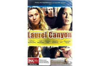 LAUREL CANYON -Rare DVD Aus Stock Comedy New Region 4