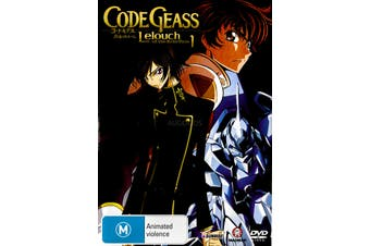 Code Geass Lelouch of the Rebellion 1 - DVD Series Rare Aus Stock New Region 2,4