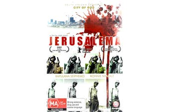 JERUSALEMA -Rare DVD Aus Stock -War New Region 4