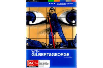 With Gilbert & George -Rare DVD Aus Stock Comedy New Region 4