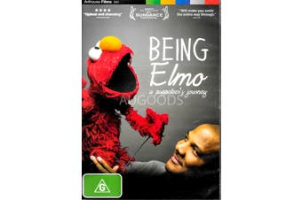 BEING ELMO: A PUPPETEER'S JOURNEY - Rare DVD Aus Stock New Region 4
