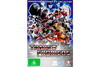 TRANSFORMERS GENERATION ONE: REMASTERED SEASON 2.2 COLLECTION Region 4