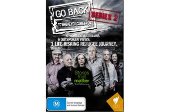 GO BACK: TO WHERE YOU CAME FROM 2 - DVD Series Rare Aus Stock New Region ALL