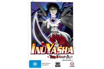 INUYASHA: THE FINAL ACT COLLECTION 1 -Kids DVD Series Rare Aus Stock New