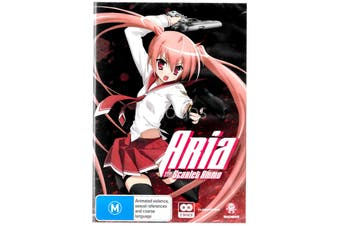 Aria The Scarlet Ammo - Collection - Rare DVD Aus Stock New Region 4