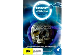 History cold case Season 1 - DVD Series Rare Aus Stock New Region ALL