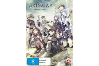 Grimgar, Ashes And Illusions Complete Series -DVD Animated New