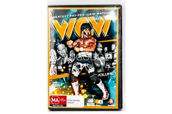 WCW - DVD Series Rare Aus Stock New