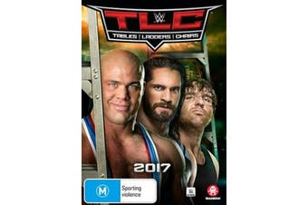 WWE - TLC - Tables, Ladders, Chairs 2017 - DVD Series Rare Aus Stock New