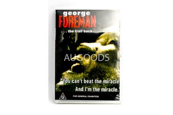George Foreman... The Trail Back - Rare DVD Aus Stock New