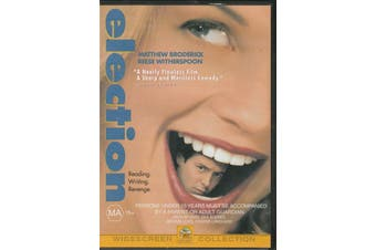 Election -Matthew Broderick, Reese Witherspoon - Rare DVD Aus Stock New Region 4