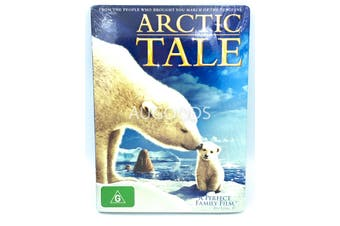 Arctic Tale a perfect family film -Educational DVD Series New Region 4