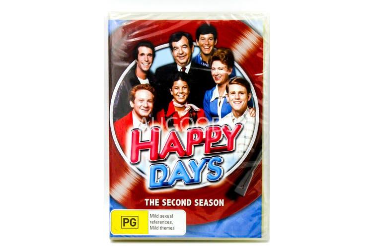 HAPPY DAYS : SEASON 2 -DVD Comedy Series Rare Aus Stock New
