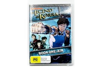 The Legend of Korra - Book One : Air - Rare DVD Aus Stock New