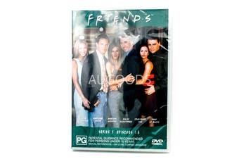F.R.I.E.N.D.S Series 5 Episode 1-8 -DVD Comedy Series Rare Aus Stock New