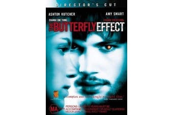 The Butterfly Effect - Rare DVD Aus Stock New Region 4