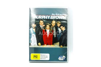 Murphy Brown :Season 1 4-Disc Set -Region 4 -DVD Series Comedy New