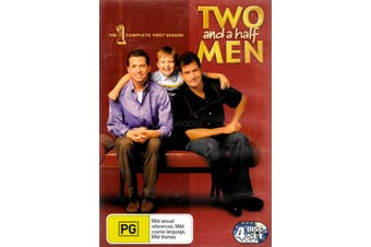 TWO AND A HALF MEN: THE COMPLETE FIRST SEASON -DVD Series Comedy New Region 4