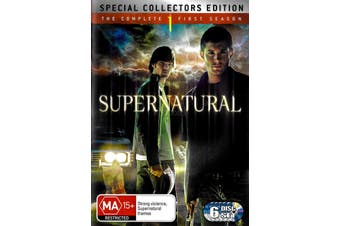 Supernatural Complete Season 2 - DVD Series Rare Aus Stock New Region 4