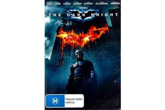 THE DARK KNIGHT - Rare DVD Aus Stock New Region 4