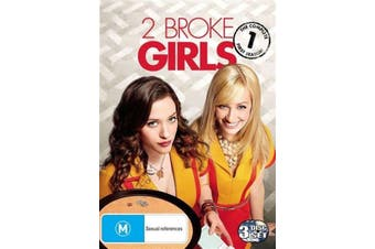 2 BROKE GIRLS - THE COMPLETE FIRST SEASON -DVD Series Comedy New Region 4