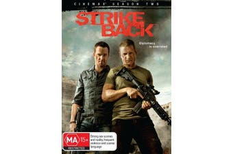 Strike Back: Season 2 - DVD Series Rare Aus Stock New Region 4