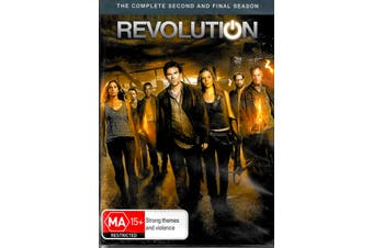 REVOLUTION - THE COMPLETE SECOND AND FINAL SERIES - DVD Series New Region 4