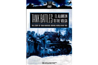 Tank Battles - El Alamen to the Volga -Rare DVD Aus Stock -War New Region ALL
